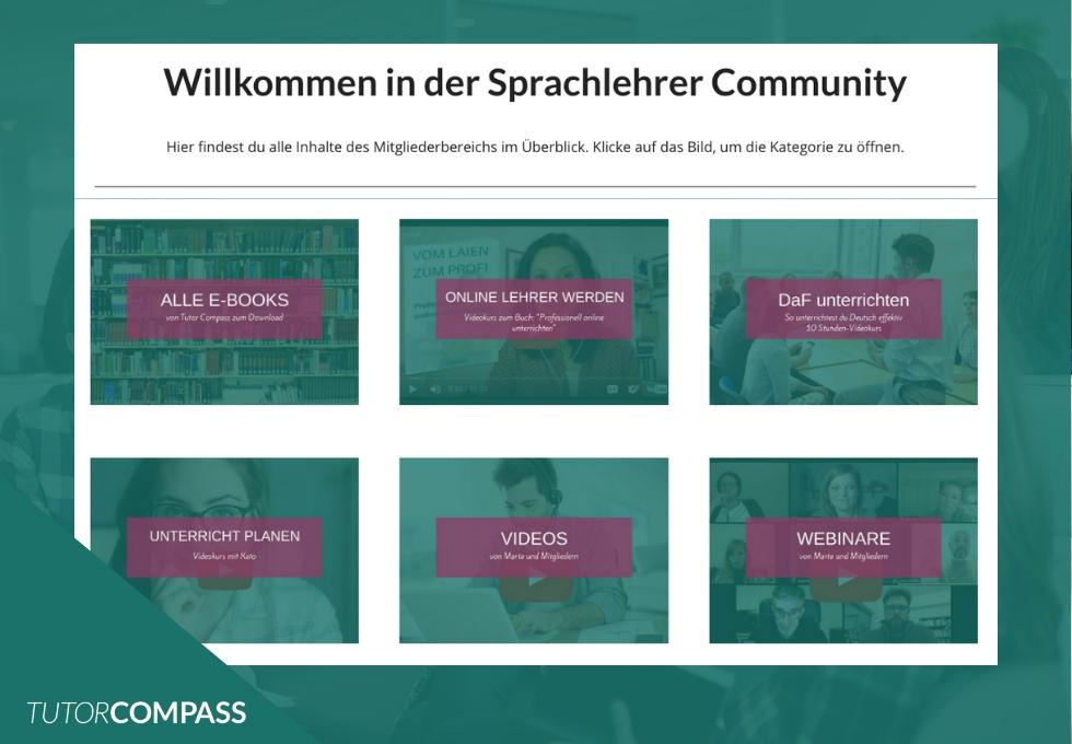 Sprachlehrer-Community